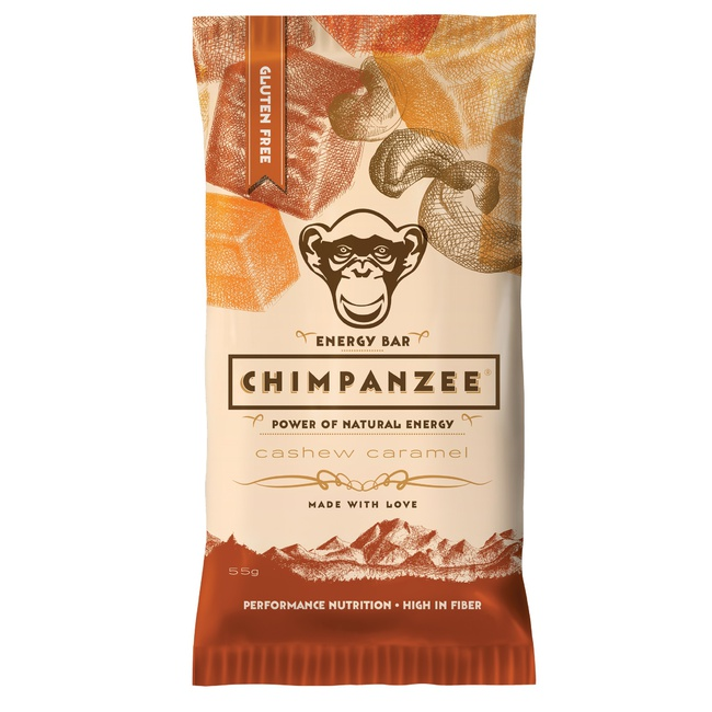CHIMPANZEE ENERGY BAR Kešu - Karamel 55g