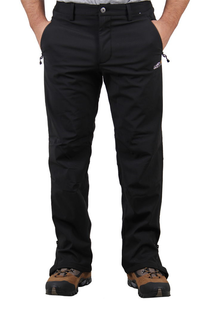 Geo Softshell Trousers - Black