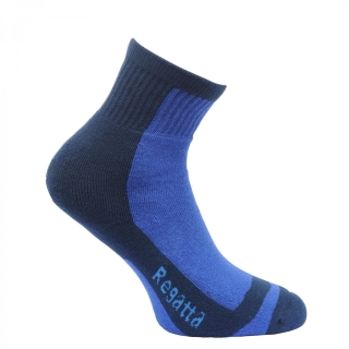Kids Coolmax Trek & Trailsock II - Blue