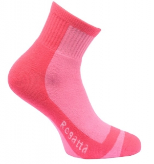Kids Coolmax Trek & Trailsock II - Pop Pink